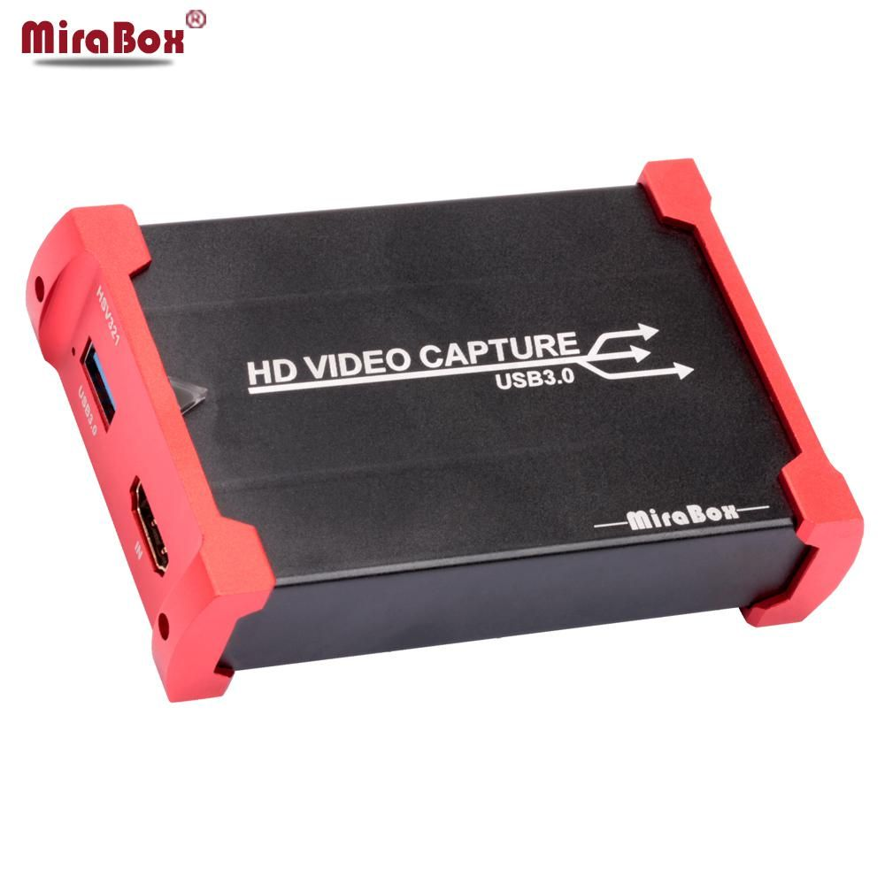 MiraBox HDMI Game Capture Card for Youtube Live Streaming
