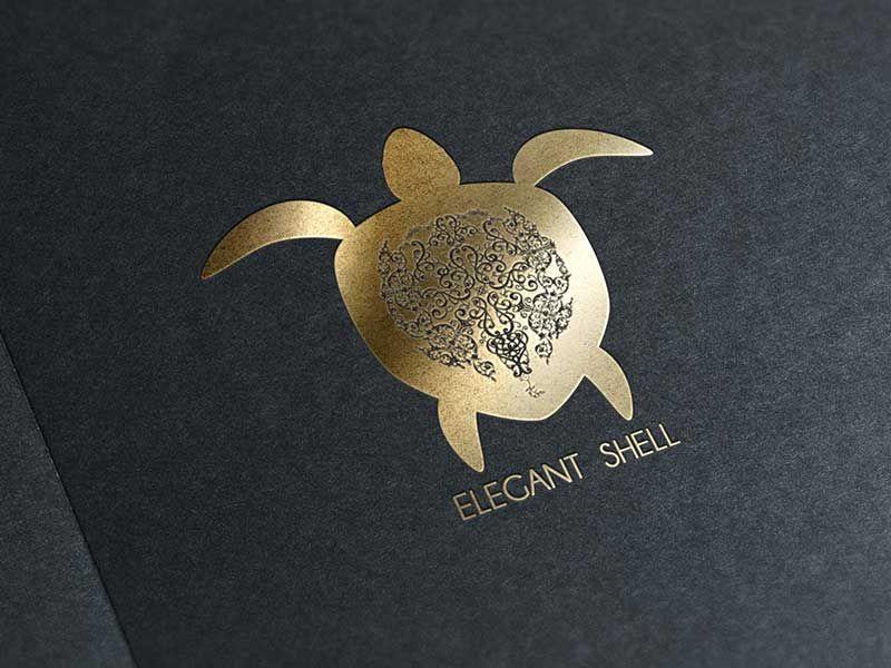 Elegant Shell logo design.