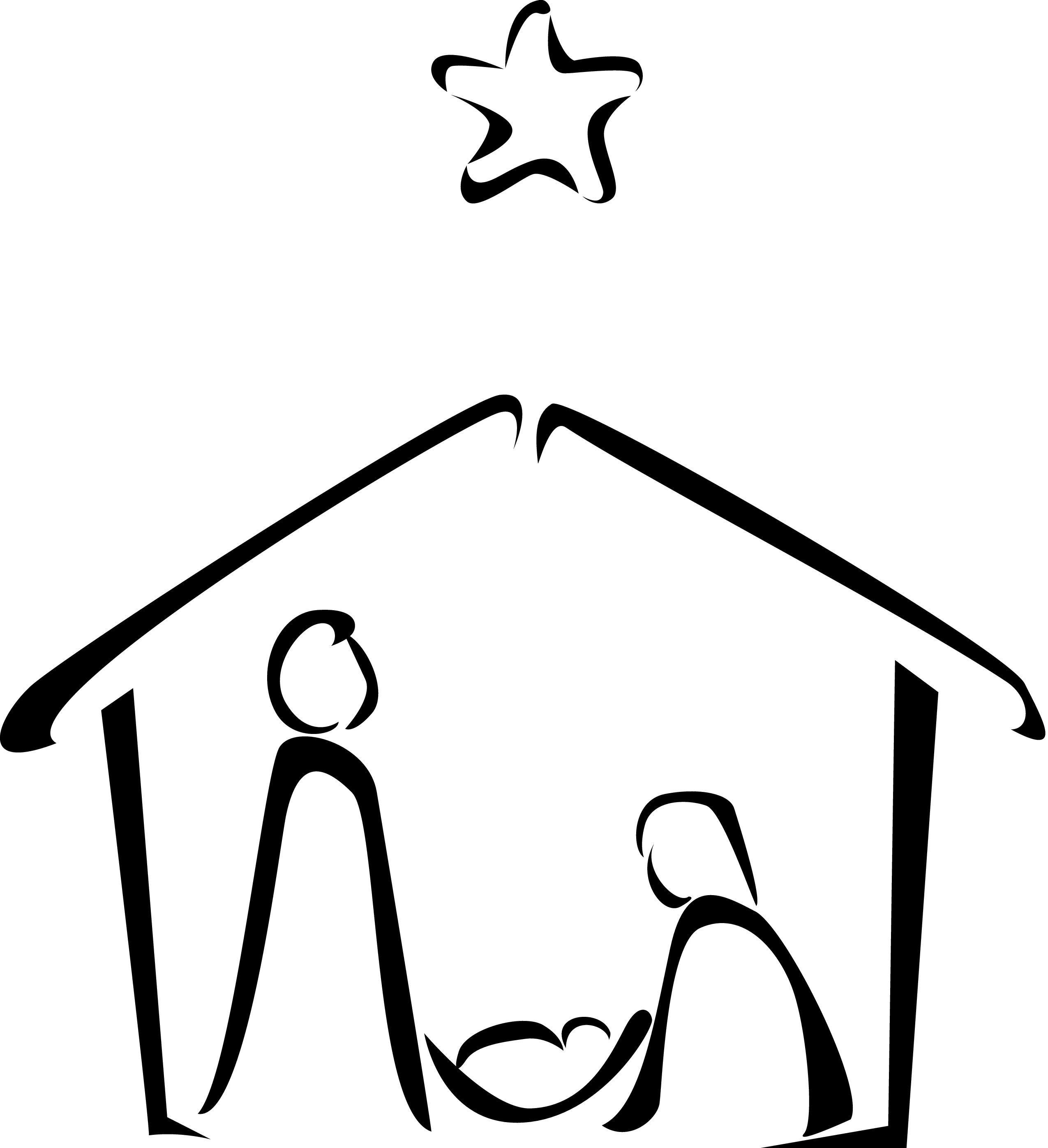 How To Draw Nativity