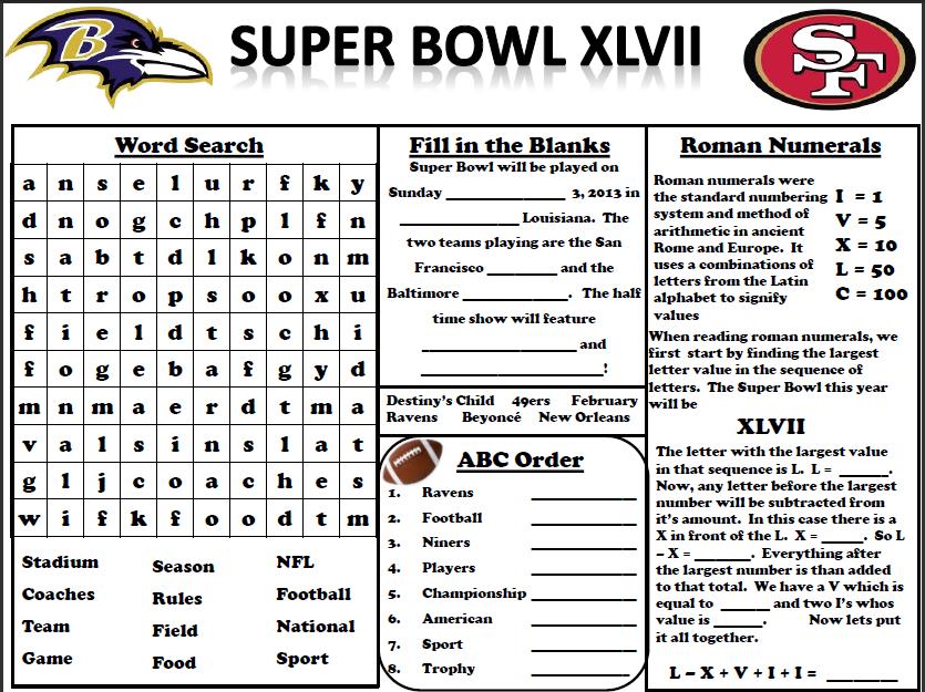 Outstanding Super Bowl Coloring Sheets Superbowl Sheet Badger ...