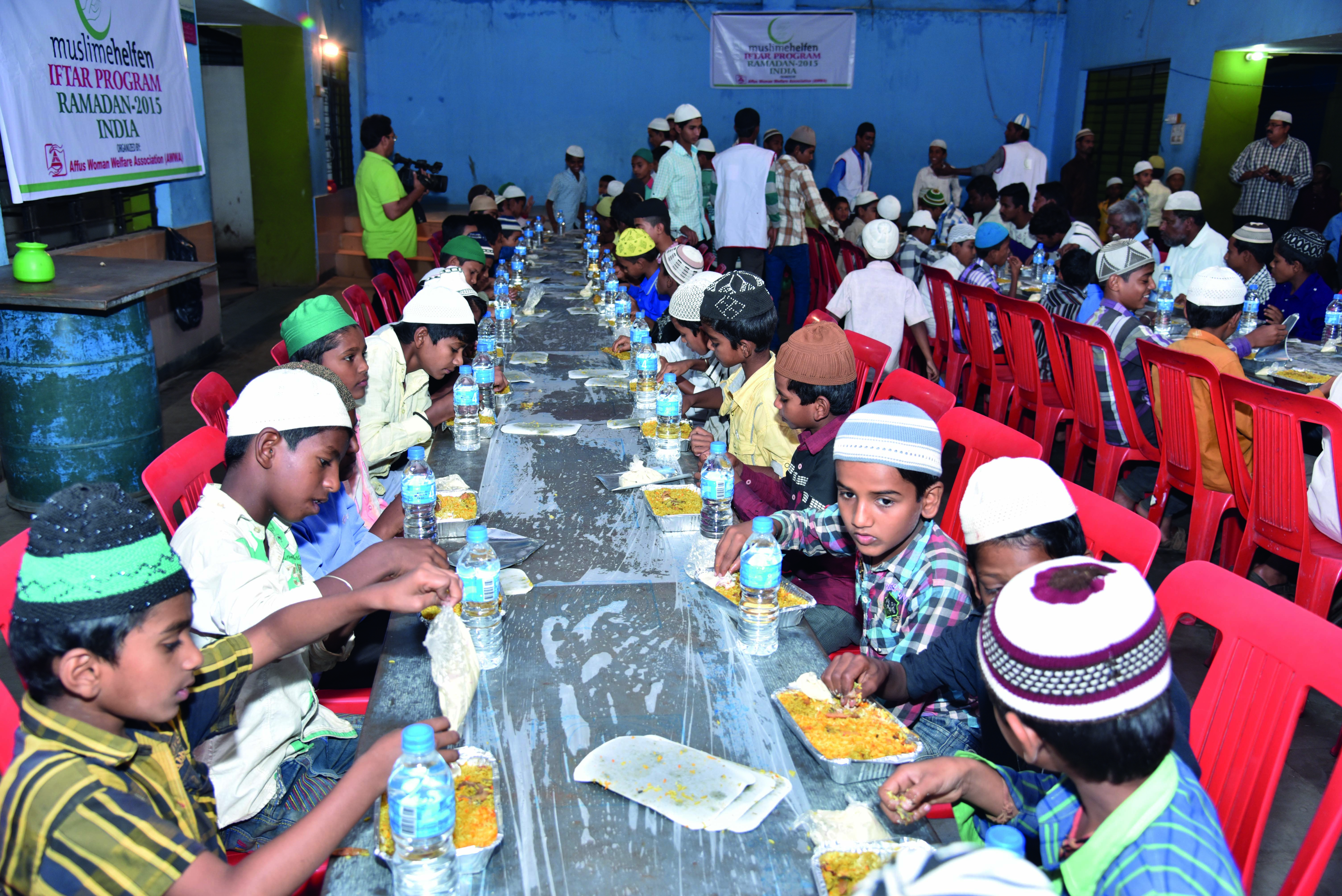Iftar in Indien © MH