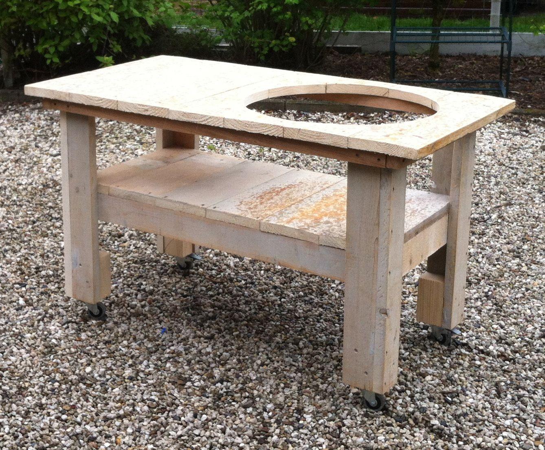 Steigerhout bbq tafel google zoeken tuin idee for Bbq tafel maken