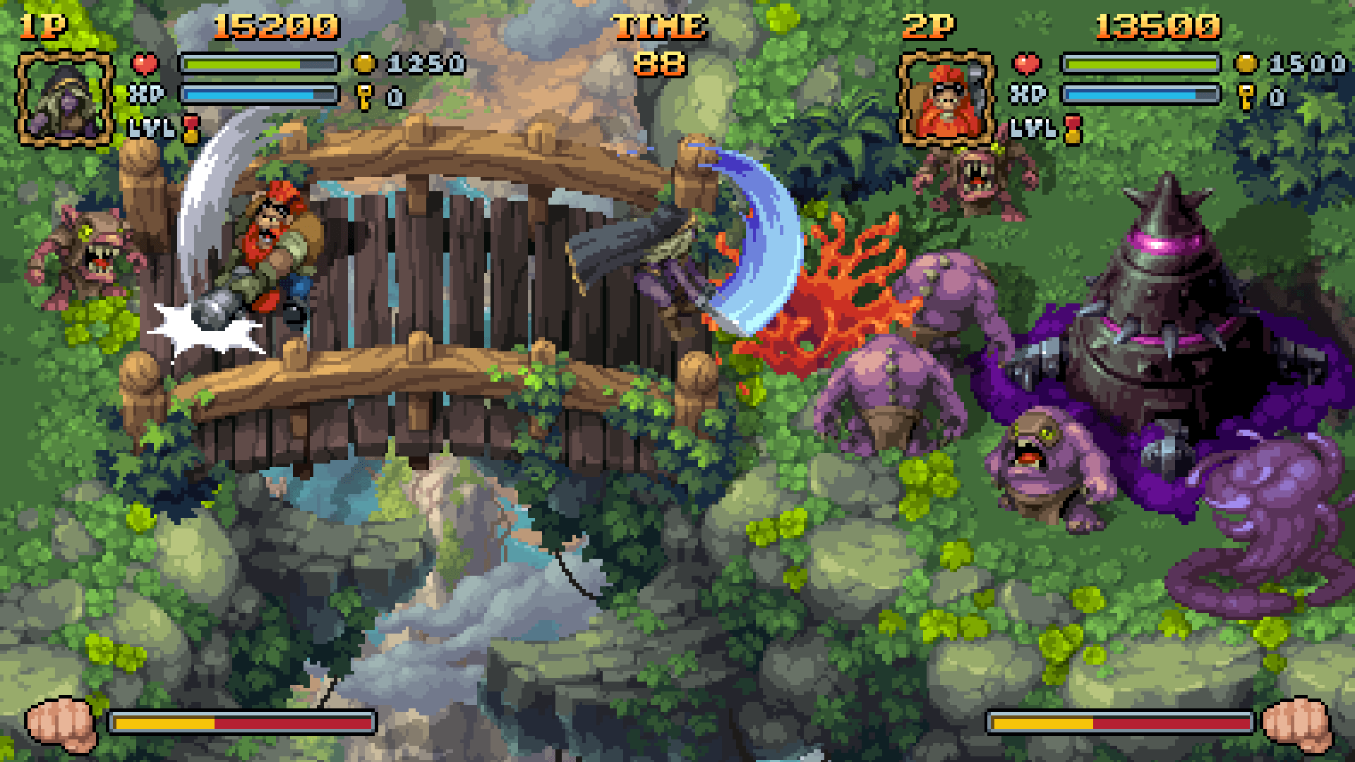 Numskull Games to publish Kickstarted Battle Axe on Xbox One, PS4, Switch and PC  Currently running the crowdfunding route over on Kickstarter, the pixel art retro affair that is Battle Axe already looked set to become a certainty. Today though comes news that Numskull Games have picked up the publishing rights, with a view to pushing the game out to Xbox One, PS4, Nintendo Switch and PC. At time …   #Axe #Battle #Games #Kickstarted #Numskull #PS4 #Publish #Switch
