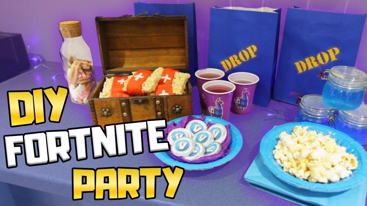 DIY Fortnite Birthday Party Ideas Plenty of great ideas