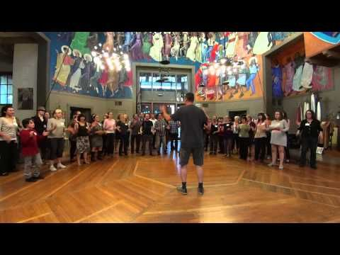 The Rain Song - with Body Percussion - Practice Video - YouTube