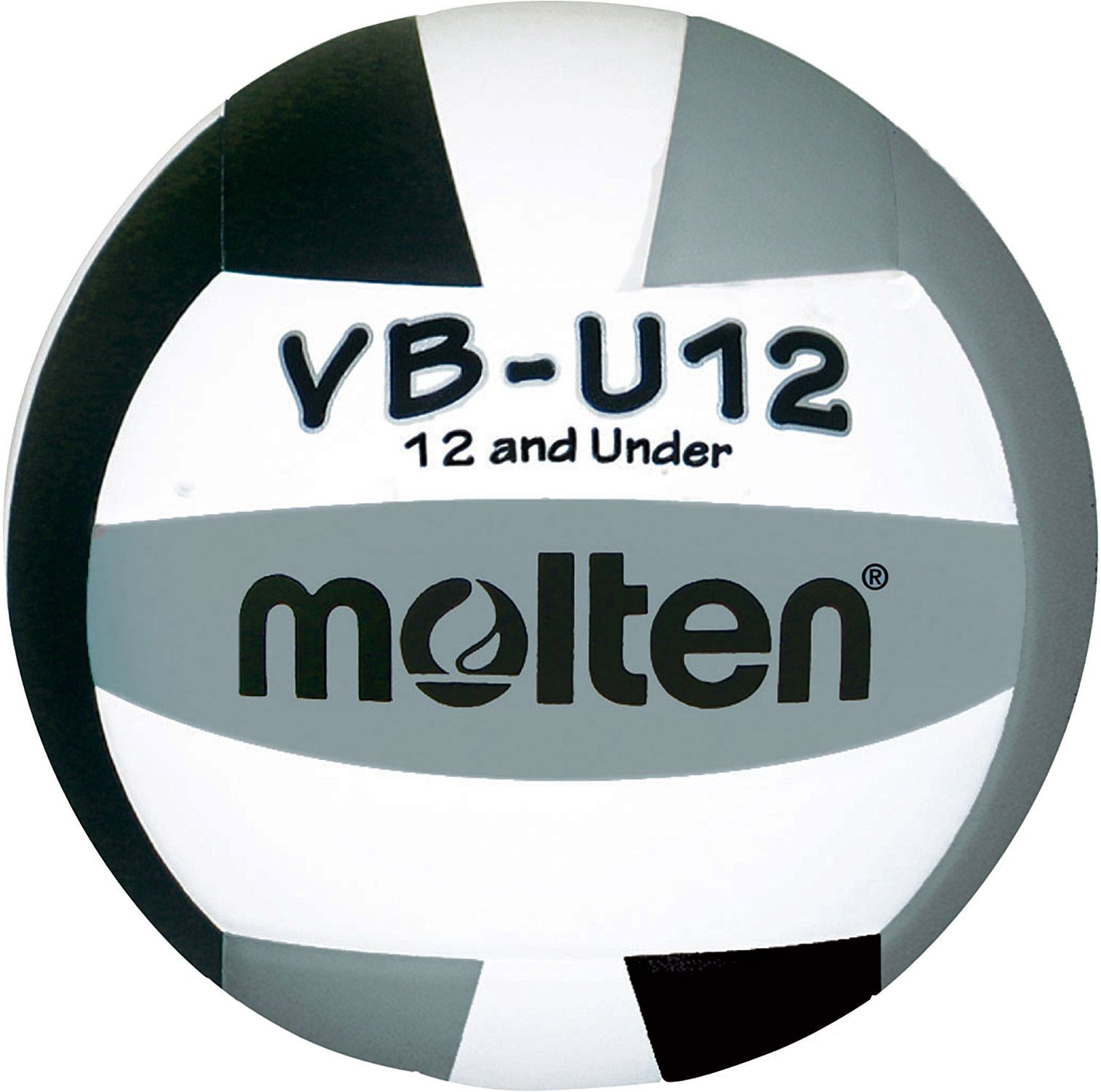 Molten Youth VBU12 Indoor Volleyball, Kids, Gray in 2020