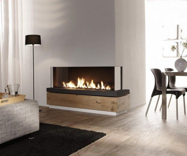 Electric fireplaces and Modern interiors
