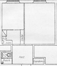 kök i fru Petterssons våning