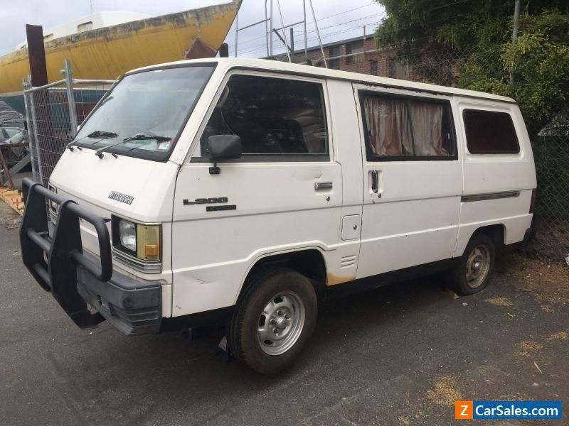unfinished project Van NO RESERVE #mitsubishi #l300 #forsale ...