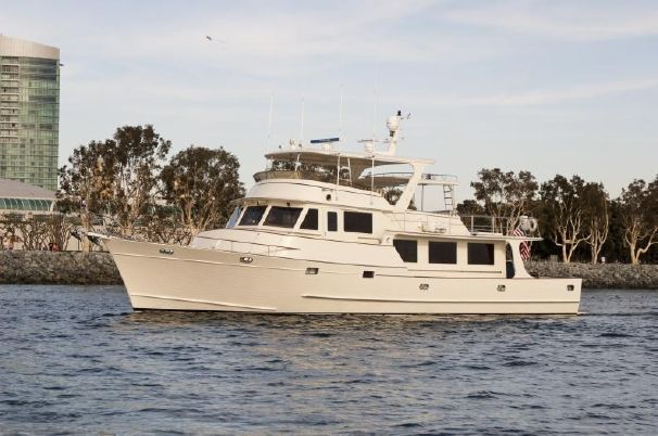 Fleming Raised Pilothouse 2000 - http://boatsforsalex.com/fleming-raised-pilothouse-2000/ -                                            US$ 1,975,000  Year: 2000Length: 72'Engine/Fuel Type: TwinLocated In: Long Beach, CAHull Material: FiberglassYW#: 1417-2612790Current Price: US$ 1,975,000  SULADAN is an exceptional opportunity to acquire a very well maintained and ...