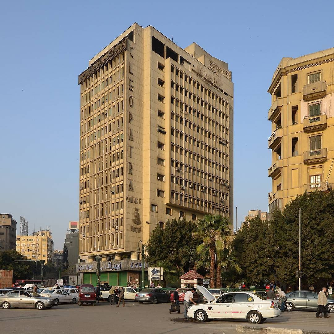 Cleopatra Palace Hotel Cairo Egypt Built In 1962 To A