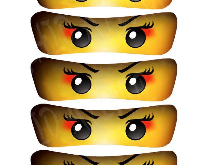 Madchen Ninja Samurai Augen 5 Grossen Instant Download Hohen