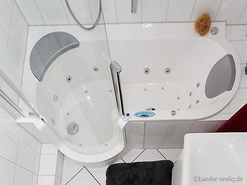 kleine badezimmer l sungen helle fliesen mit l ngliches. Black Bedroom Furniture Sets. Home Design Ideas