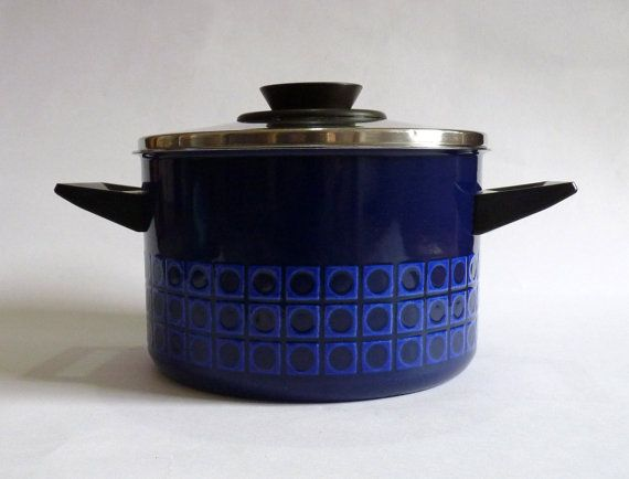 Vintage Silit Enamel Stockpot Saucepan