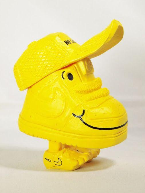 RT Decorway: Michael Lau Crazysmiles Nike mixtra Mr. Shoe Sample AIR FORCE…