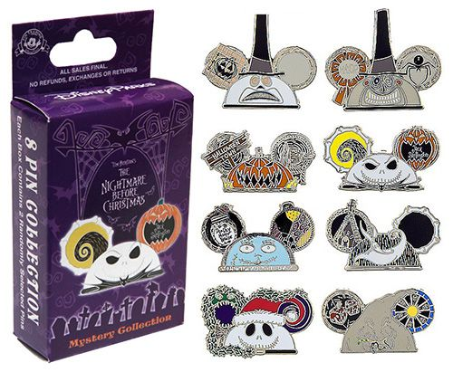2021 Nightmare Before Christmas Trading Pin Spooktacular New The Nightmare Before Christmas Merchandise At Disney Parks Nightmare Before Christmas Merchandise Disney Pins Sets Disney Trading Pins