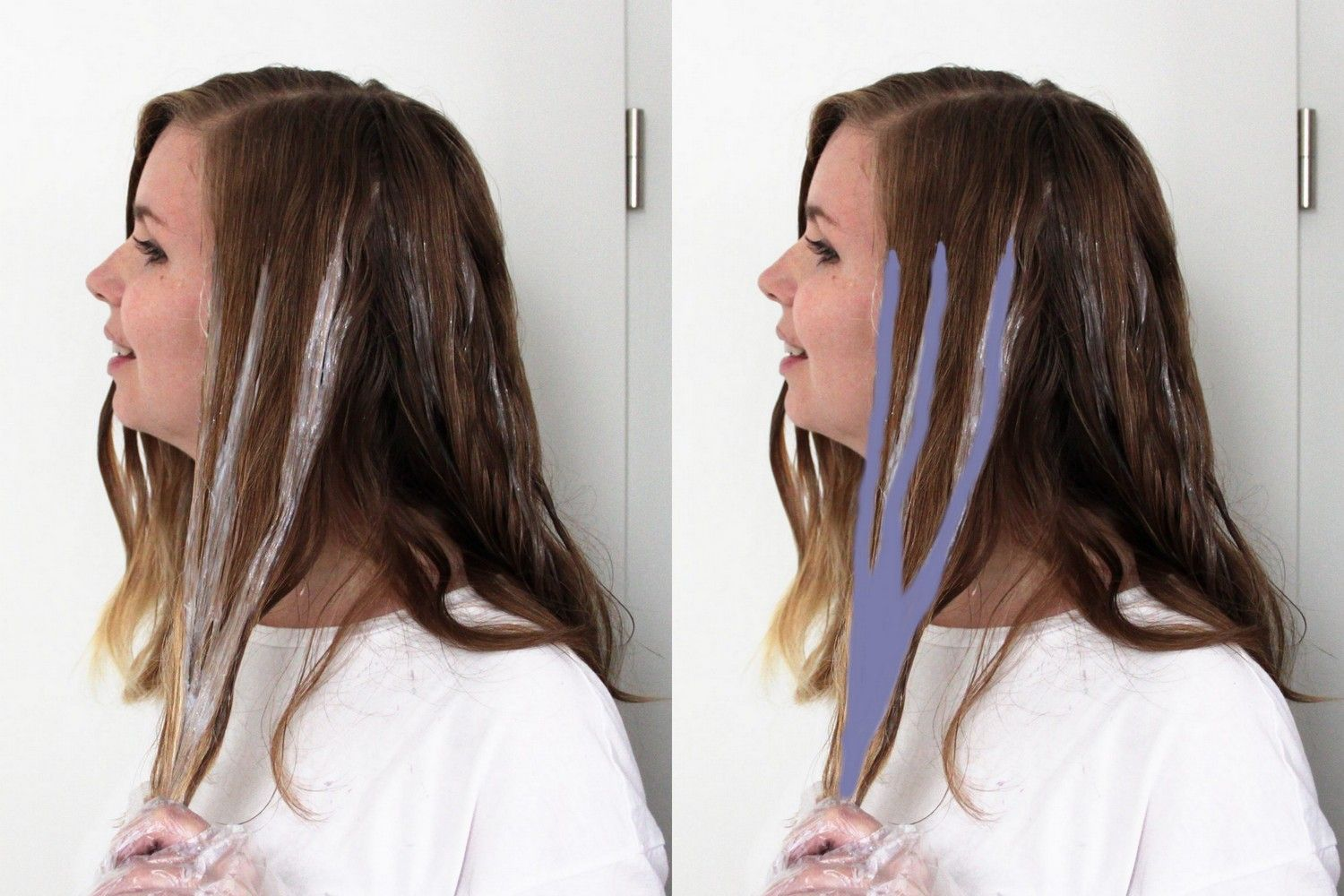 diy yourself ombre