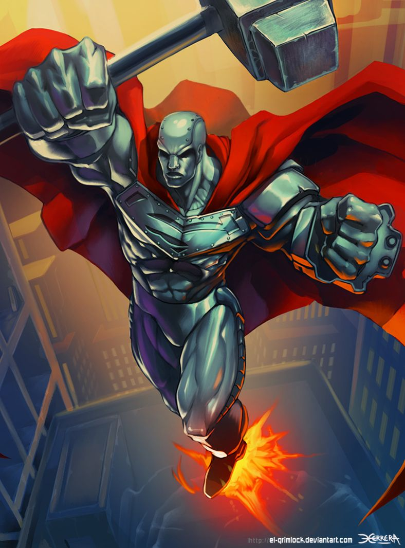 Image result for Jeremy Irons Steel dc comics