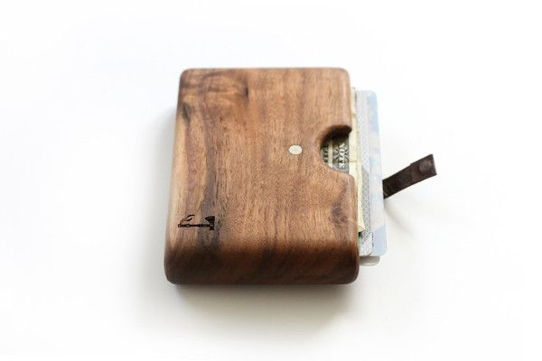 Wood Wallet by slim timber -- for TaTa