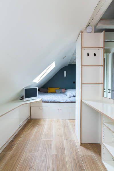 miniature Espace XXS bien caché sous les toits, au 7eme étage, au