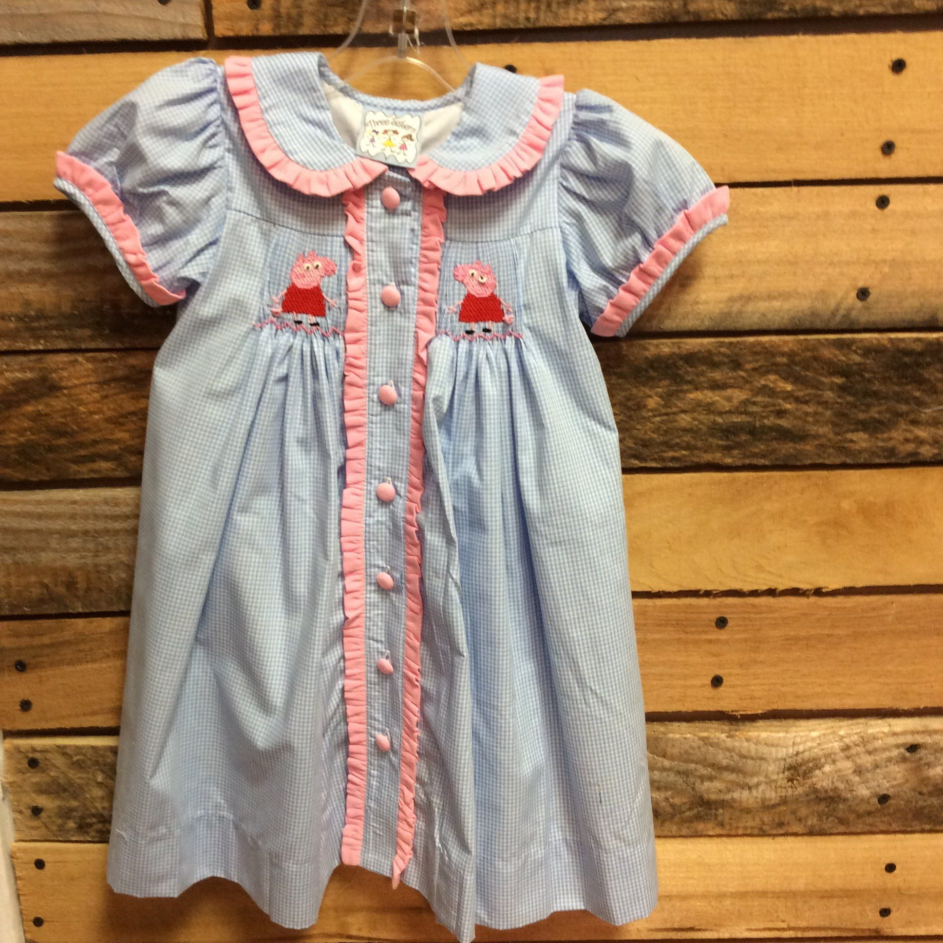Three sisters peppa pig dress peppa pig dress and three sisters