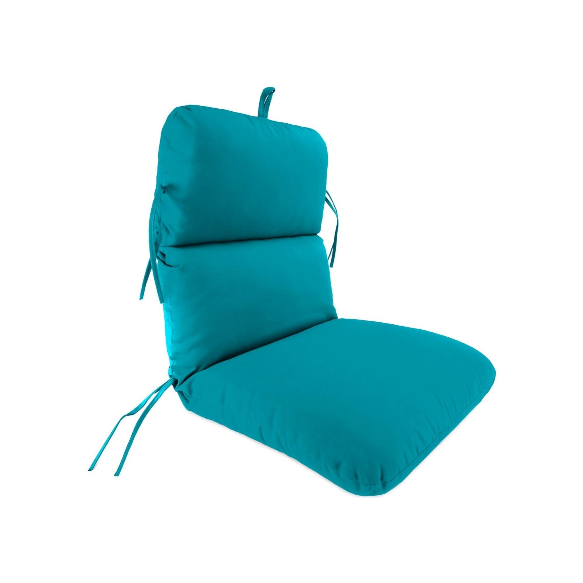 Jordan Knife Edge Dining Chair Cushion Davinci Turquoise
