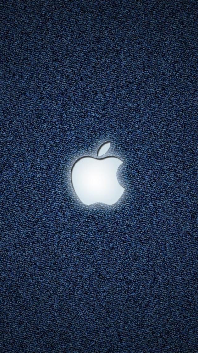 white light apple iPhone 5 backgrounds HD アップルの壁紙、Apple