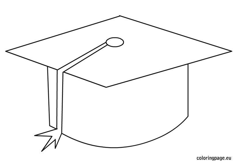 Graduation Cap Coloring Page Coloring Pages Graduation Cap Graduation Images