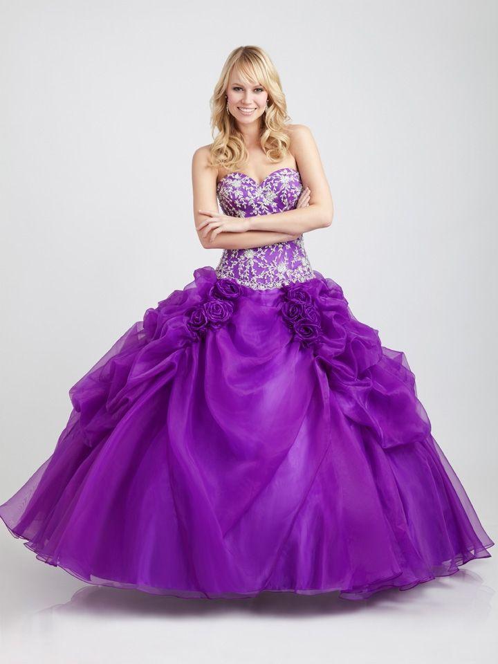 Vestidos para quinceañera morados Allure Bridals | XV | Pinterest ...