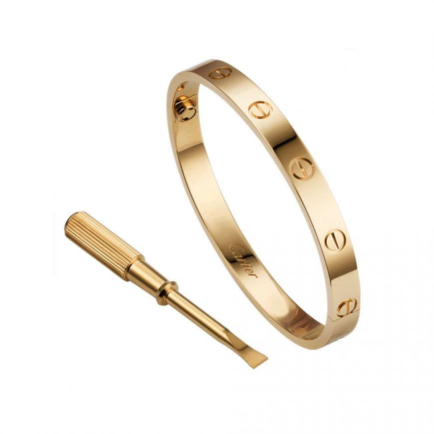 ba01bf7eca2 Most Popular Cartier Love Gold-Plated Bracelet Latest Style For Women & Men  Online Sale B6048517