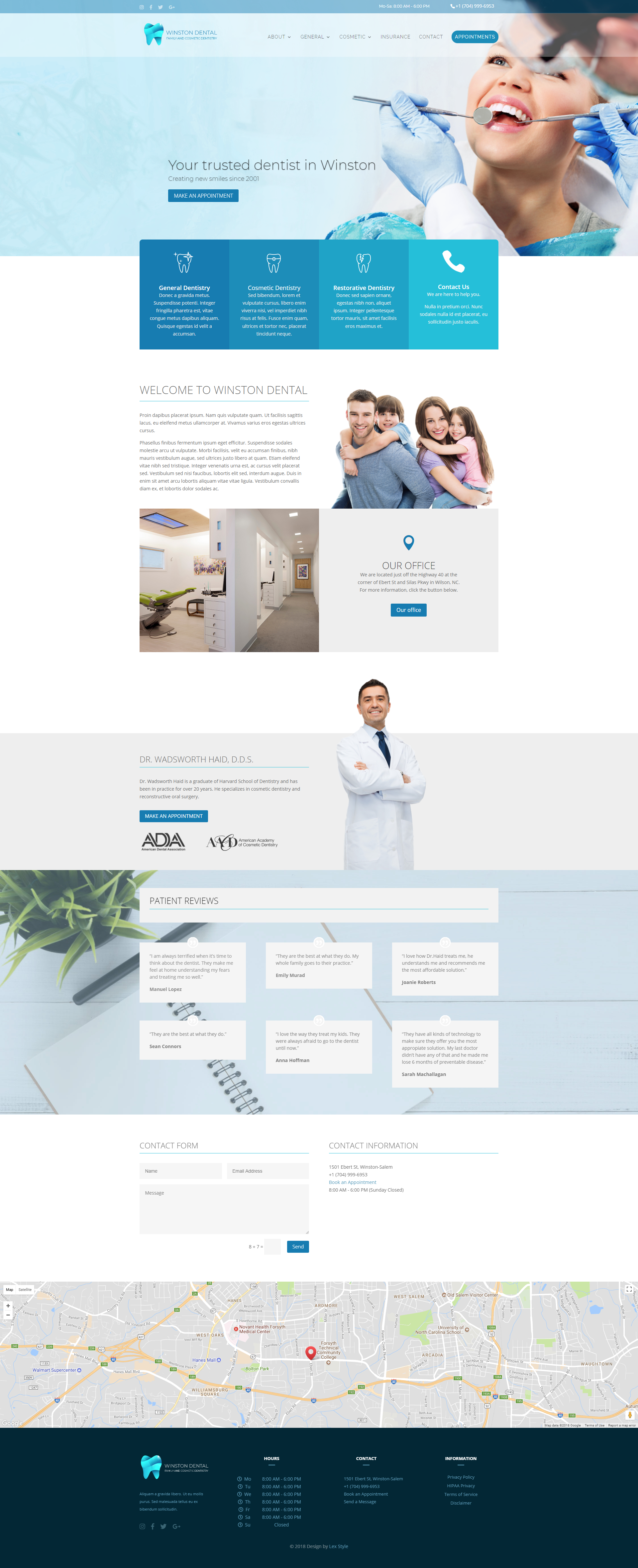 A Beautiful Clean And Modern Healthcare Web Design Dentalwebdesign Healthcarewebdesign Webdesign We Clean Web Design Healthcare Design Healthcare Website