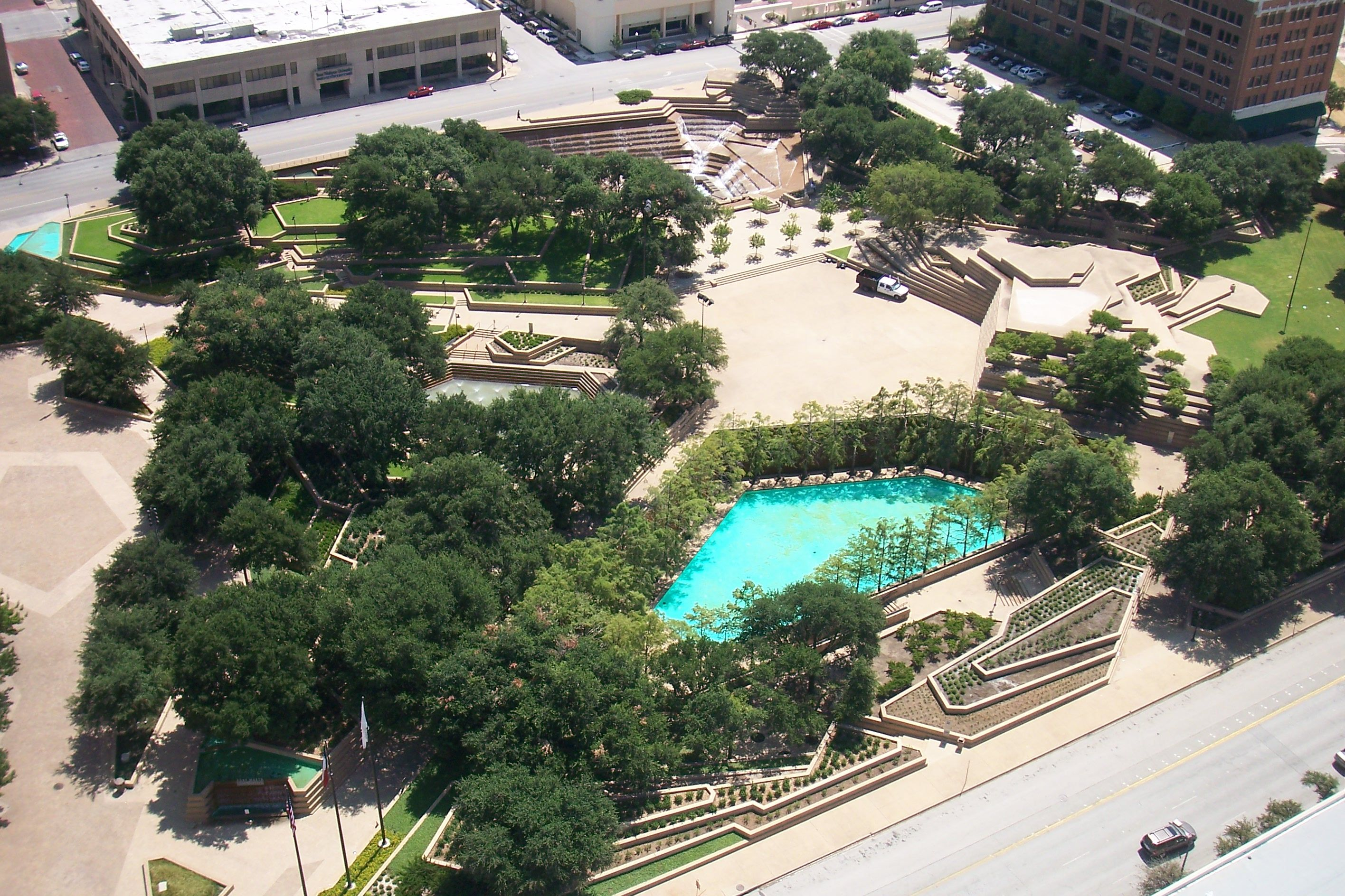 Fort Worth Water Gardens WITNESS THIS Fort worth water