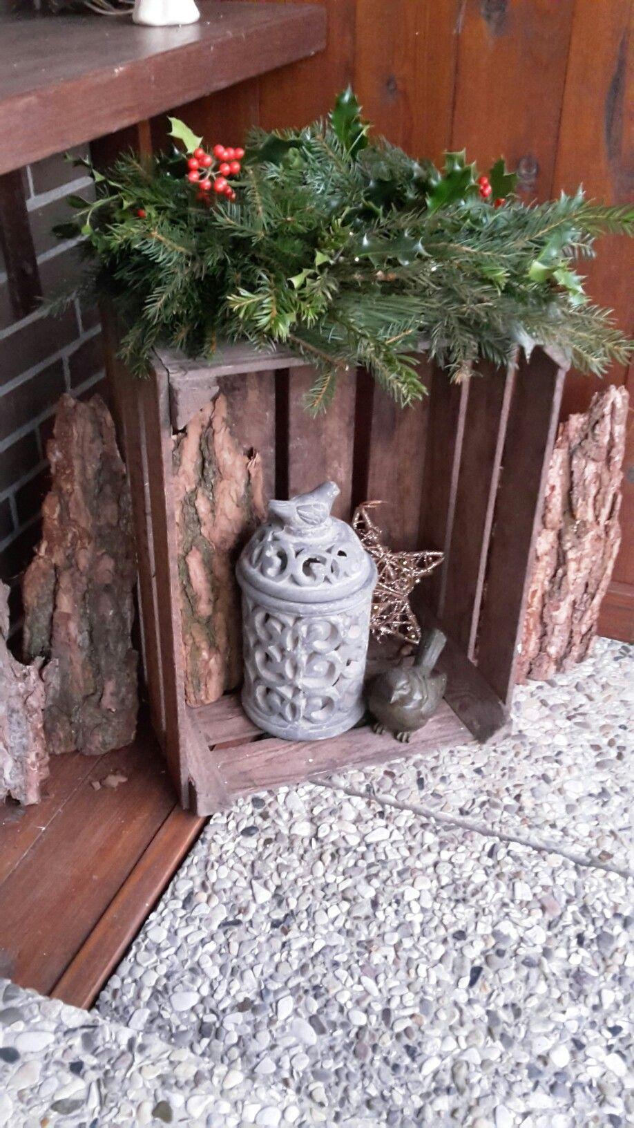 Weihnachtsdeko haust r deko ideen pinterest for Weihnachtsdeko terrasse