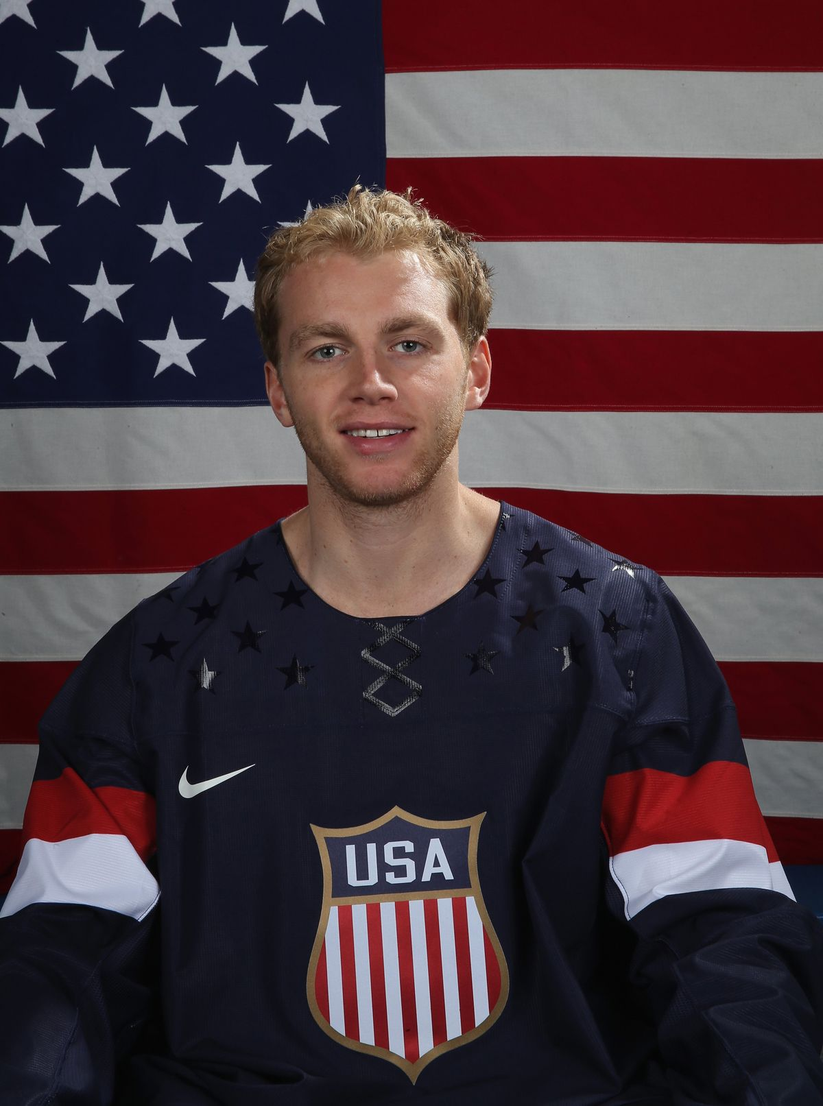 Patriotic Kane Of Chicago Blackhawks Wearing The Usa