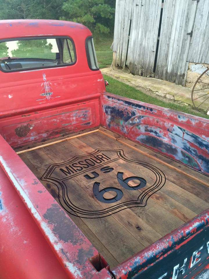 Custom Routered Bed Floor Camiones Chevy Camionetas Chevy Camionetas Clasicas Chevrolet