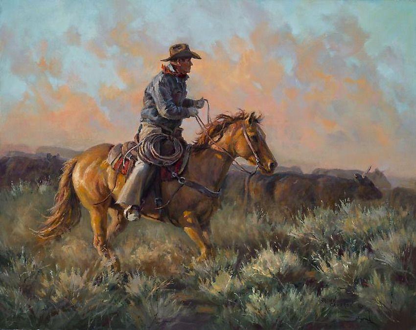 Vaqueros-en-paisajes-pinturas-oleo_01