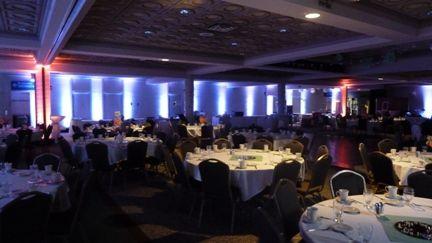 Up lighting in Kirby Ballroom UMD. Wedding lighting by Duluth Event Lighting. Up lighting in white. Bridal lighting lighting d. & Up lighting in Kirby Ballroom UMD. Duluth MN. Wedding lighting ... azcodes.com