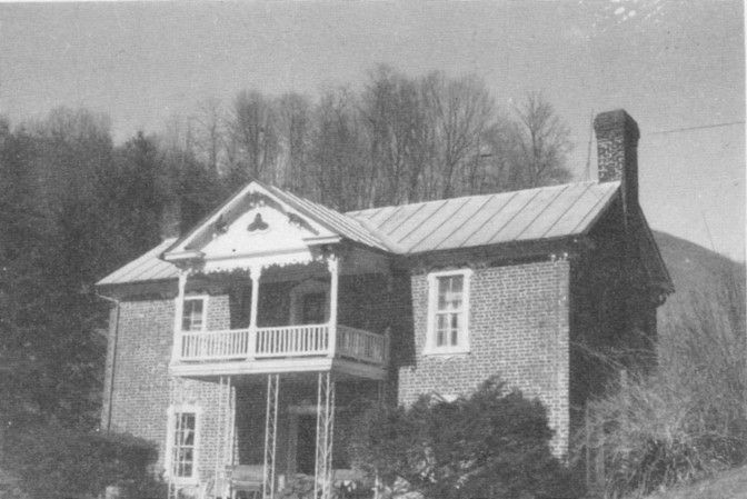 This house located on Little Helton Creek was built about 1835 by Alford Waddell and his wife Nancy Weaver. It is listed on the National Register of Historic places.