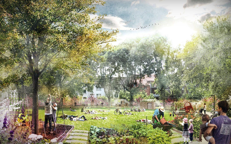 Ergebnis Eltingstrasse Eltingplatz Competitionline Landscape Architecture Perspective Landscape Design Drawings Landscape Architecture Graphics