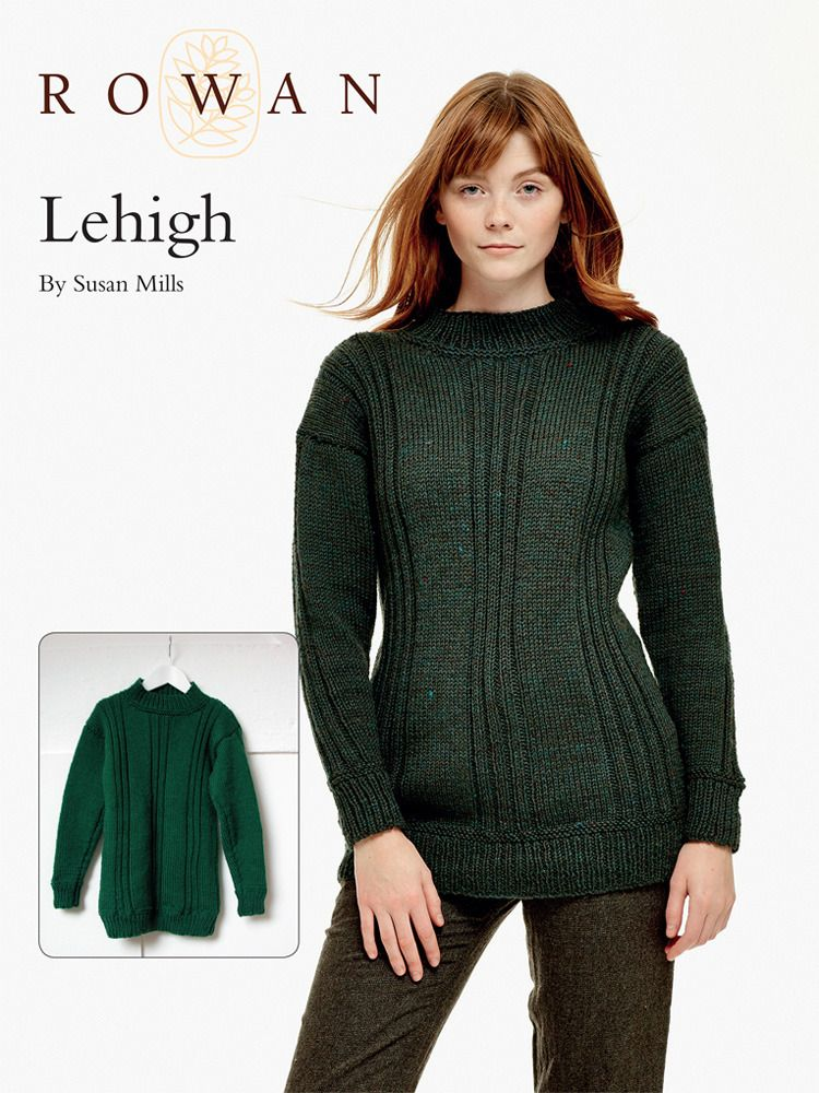 Lehigh Sweater In Rowan Pure Wool Worsted Free Projects To Try