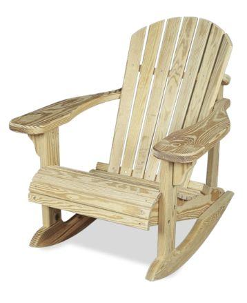 Adirondack Rocker With Images Rocking Chair Plans Adirondack