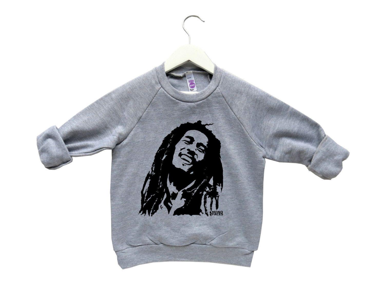 714ba226c124 Bob Marley Kids Sweatshirt