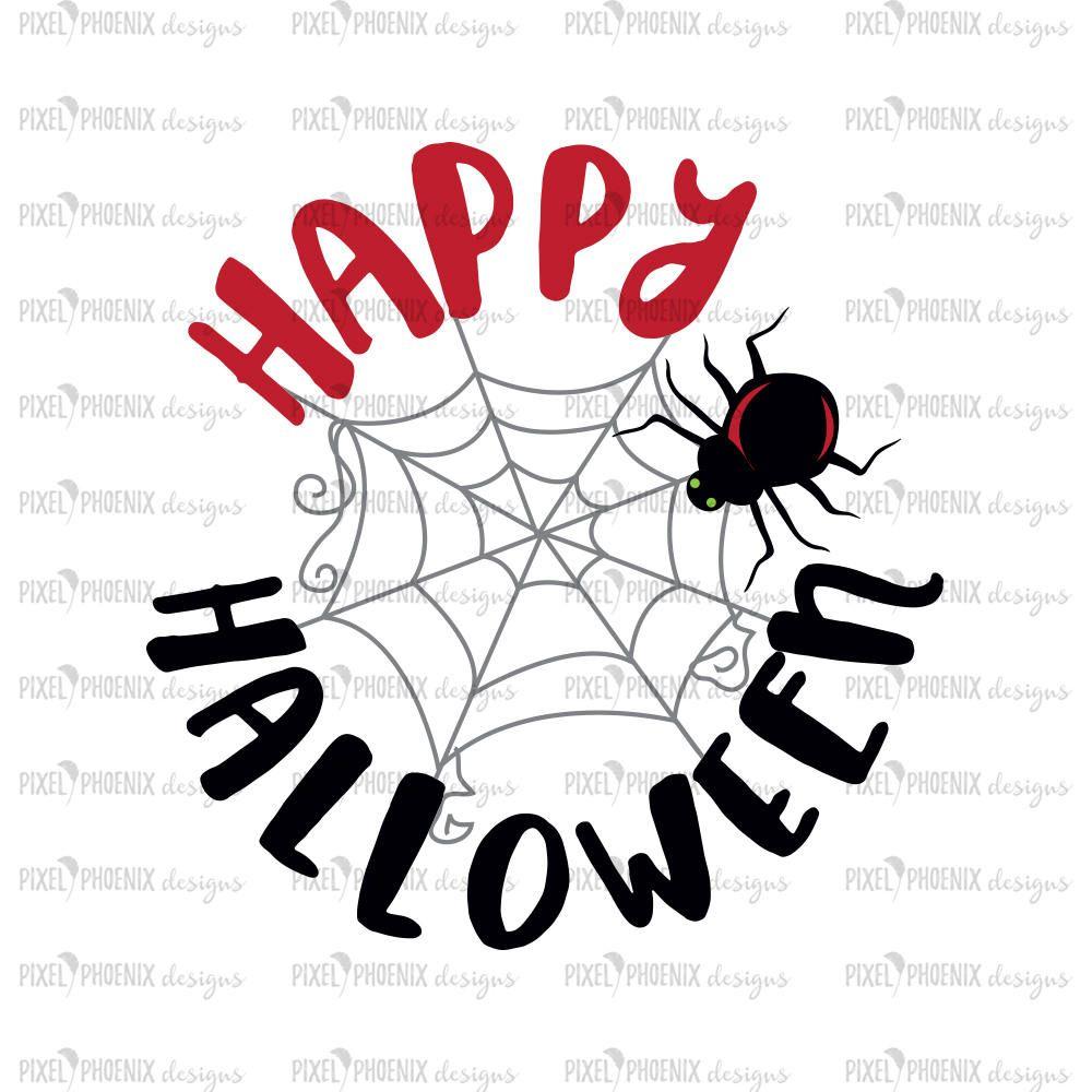 Delicieux Halloween Spider, Happy Halloween SVG, Halloween Svg, Halloween Clipart,  Halloween Cut File