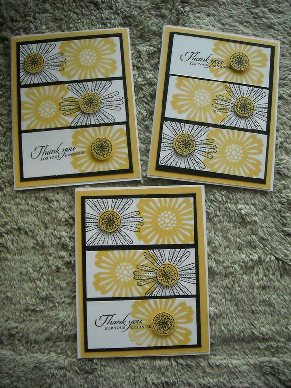 thankyou flowers with images  handmade thank you cards
