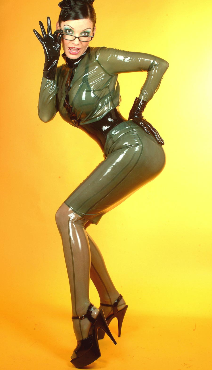 Teacher in latex