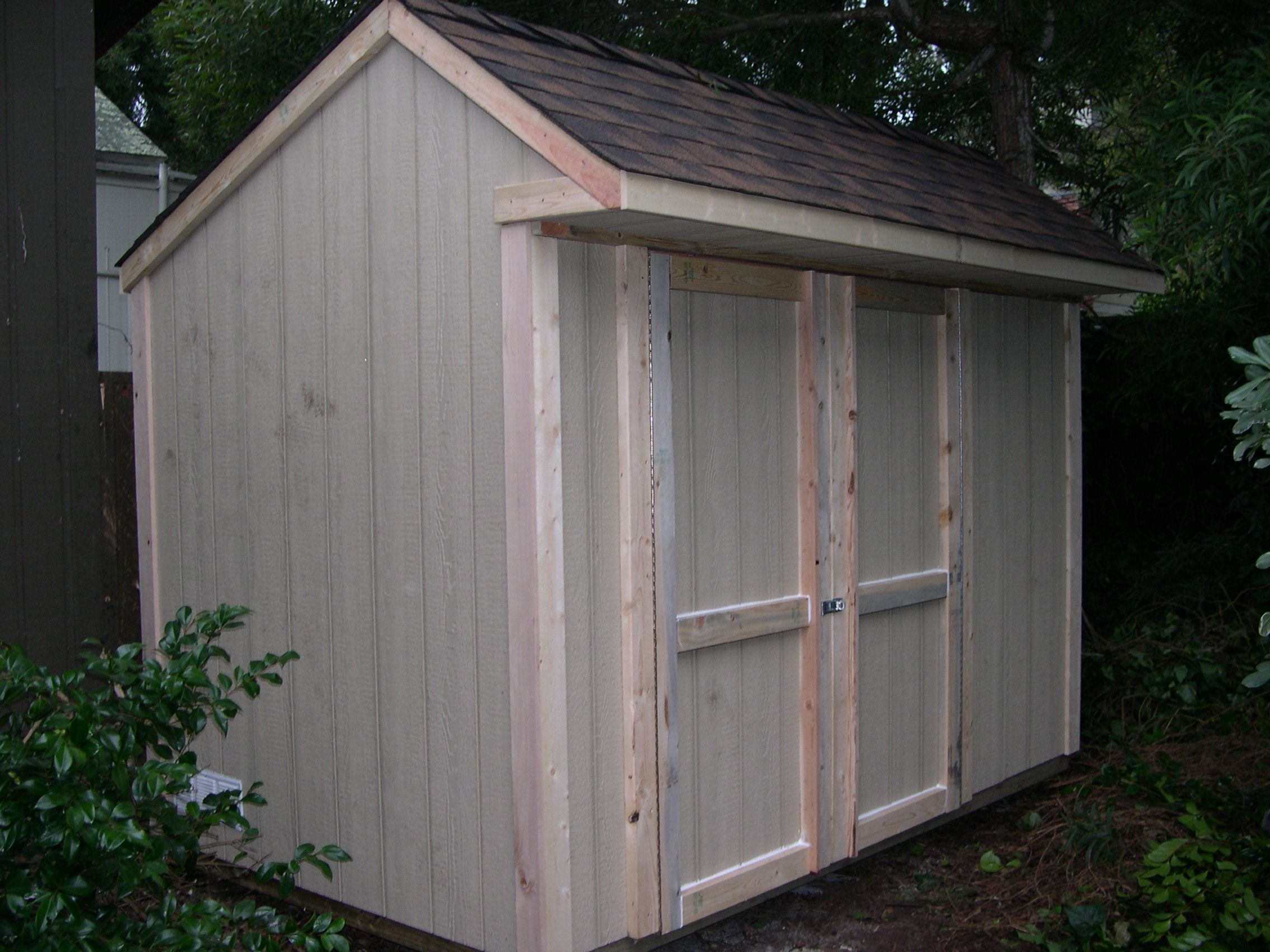 SAMPLE Shed Plans 22, 6x10 Saltbox Roof, Small Shed, DOWNLOAD