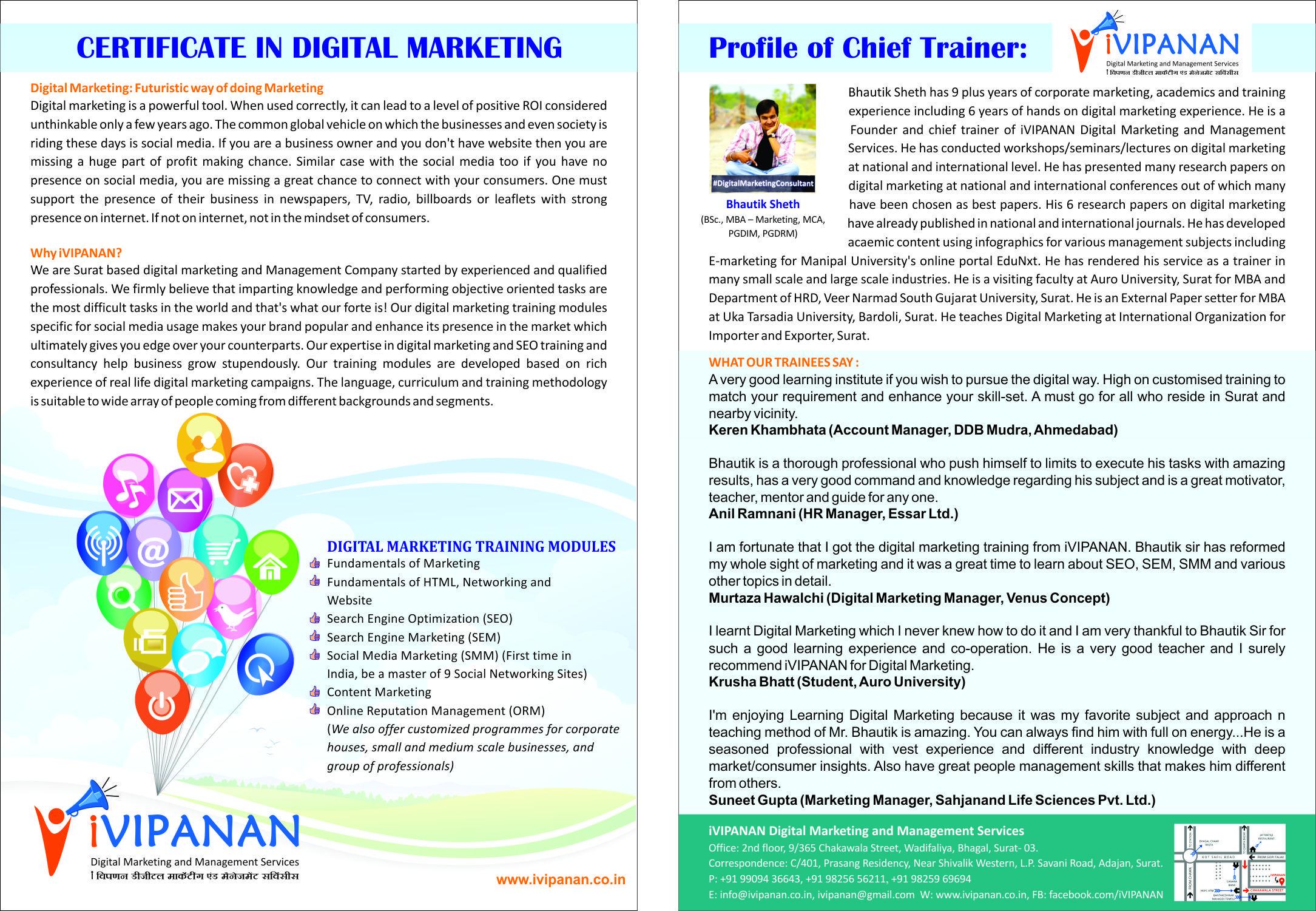 Certification Course Digital Marketing 9 Digital Marketing