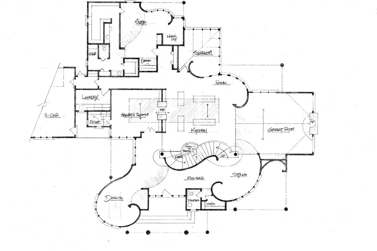 Vintage house plan old world house plan aspire architecture vintage house plan old world house plan aspire architecture floor plans pinterest vintage house plans house and interiors malvernweather Gallery