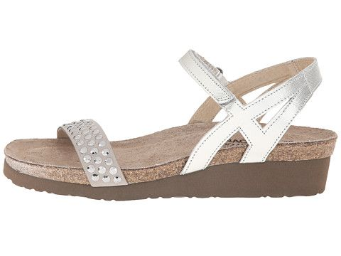 33be9080b17 Naot Footwear Lexi | Shoes | Womens shoes wedges, Naot shoes, Silver ...