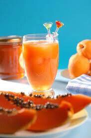 Agua de Papaya con Limon